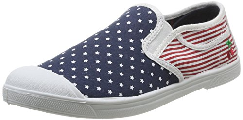 Le Temps des Cerises  Seven,  Sneaker donna Multicolore Multicolore (USA Flag) 38