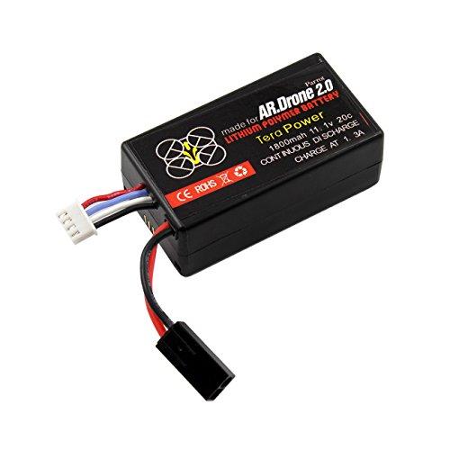 Cahaya-Reemplazo-de-la-Bateria-Litio-Polymer-para-Parrot-ARDrone-20-Helicoptero-1500mAh1800mAh2000mAh2200mAh2500mAh-111V-20C