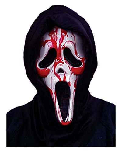 Blutende Scream Maske (Kostüm Blutende Scream)