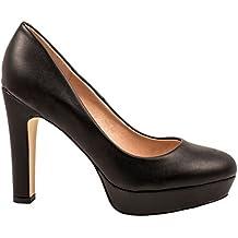 Elara Moderne Damen High Heels | Stiletto Schuhe | Plateau Pumps | Chunkyrayan
