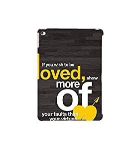 Fuson Designer Back Case Cover for Apple iPad Air 2 :: Apple iPad Air 2 Wi-Fi + Cellular (3G/LTE) :: Apple iPad Air 2 Wi-Fi (Wi-Fi, w/o GPS) (Be You Reveal No Lies Be Truthful Show yourself)