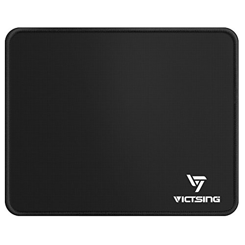 VicTsing-Mouse-Pad-Mat-2602102mm-with-Stitched-Edges-Premium-Textured-Surface-Non-slip-Rubber-Base-Laser-Optical-Mouse-Compatible-1028308-inches-Black