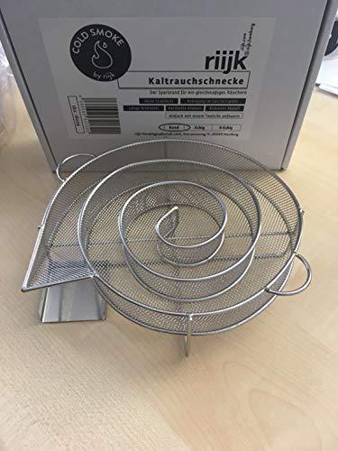 Cold Smoke Kaltrauchschnecke rund - Kaltrauchgenerator für Smoker, Grill oder Räucherofen