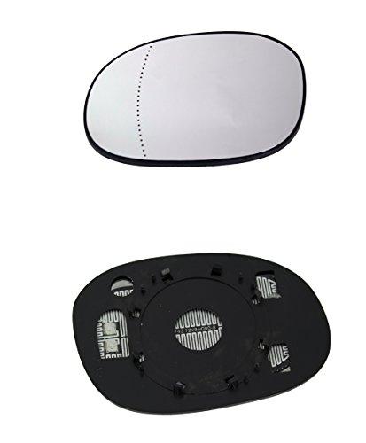 DoctorAuto DR165469 Miroir Glace Verre de Rétroviseur Extérieur Chauffante Avec le Support en Plastique Gauche