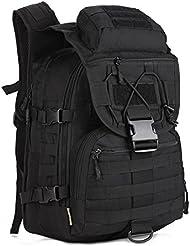 Tactical Backpack 40L Trekking Rucksack Water Resistant Military Army Combat Rucksack MOLLE Hiking Backpack