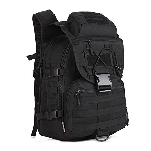 41zvB9aoZaL. SS500  - Tactical Backpack 40L Trekking Rucksack Water Resistant Military Army Combat Rucksack MOLLE Hiking Backpack Black