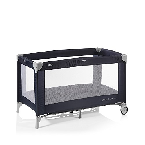 Innovaciones MS Basic 630126 - Cuna, 82 x 23 x 20 cm, Azul Marino