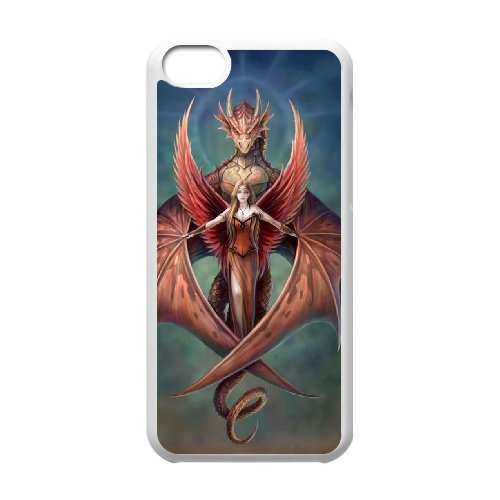 LP-LG Phone Case Of Red Dragon For Iphone 5C [Pattern-6] Pattern-5