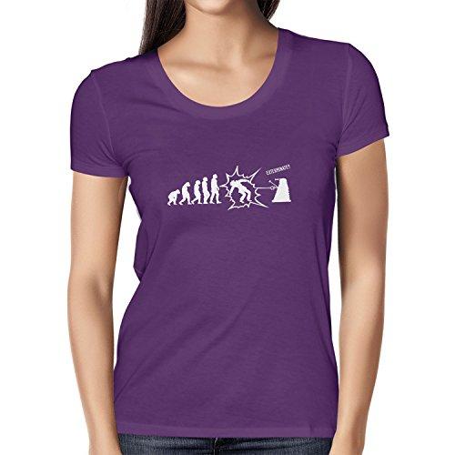 (Texlab Exterminate Evolution - Damen T-Shirt, Größe M, Violett)
