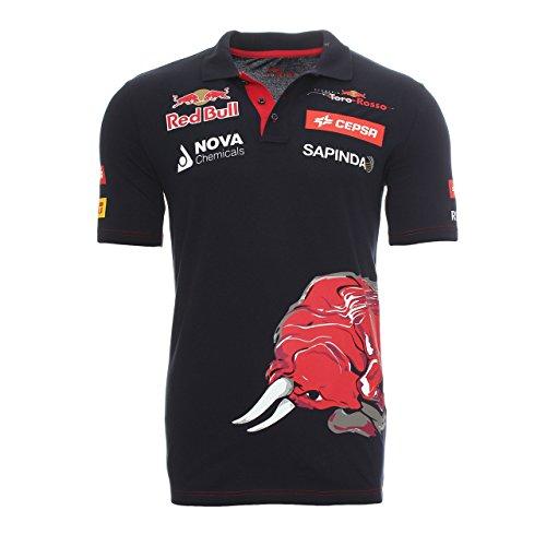 Scuderia Toro Rosso - Polo - para Hombre Azul Oscuro Medium