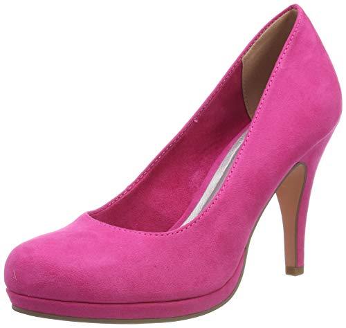 Tamaris Damen 1-1-22407-22 Pumps, Pink (Fuxia 513), 37 EU - Damen Pink Schuhe