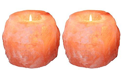 Himalayan Salt Lamp ROCKSALT Glow Natural Style Hand Carved Natural Crystal Himalayan...