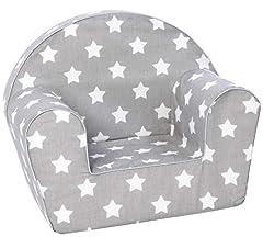 KNORRTOYS.COM 68341 Knorrtoys 68341-Kindersessel-Stars White
