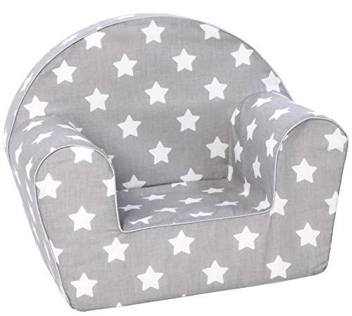 KNORRTOYS.COM 68341 Knorrtoys 68341-Kindersessel Kindersessel, Stars White