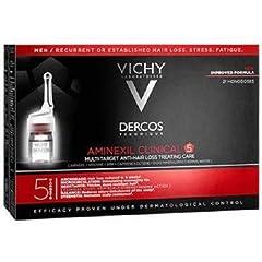 Idea Regalo - Dercos Vichy Aminexil Intensive Anticaduta Uomo, 21 Flaconi da 6 ml - 126 ml