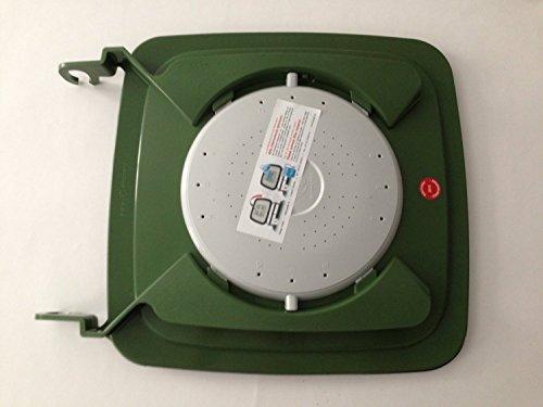 Mülltonnendeckel-Madendeckel (120 Liter Wechseldeckel)