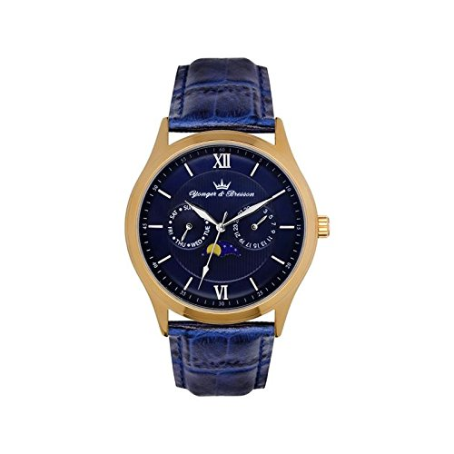 Orologio uomo Yonger & Bresson Blu–HCP 047-gg2