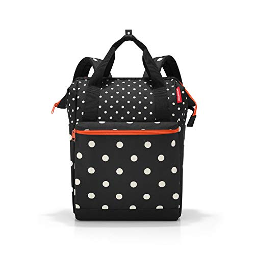 Reisenthel Allrounder R Mixed dots Rucksack, 40 cm, 12 Liter, Mixed Dots