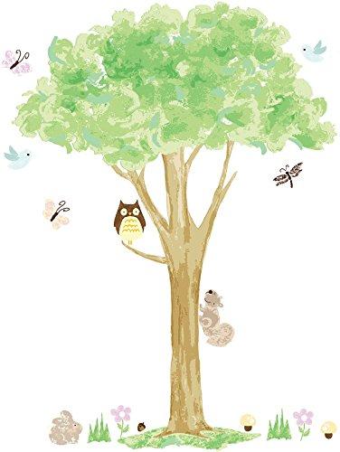Wall Pops Baum Deko-Wandsticker, selbstklebend -