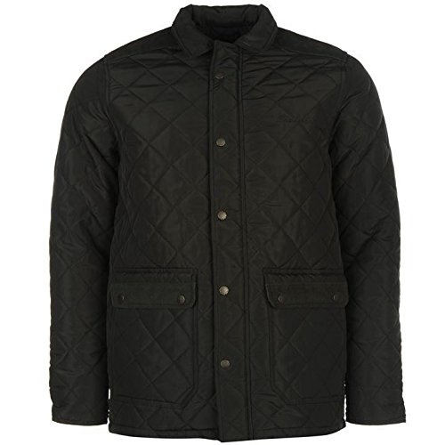 Pierre Cardin giacca trapuntata da uomo cachi giacche Coats Outerwear, Khaki, M