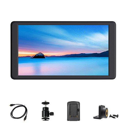 Signstek f570on-videocamera monitor lcd display 14,5cm full hd 1920x 1080ips support 4k hdmi input/output per fotocamere dslr e giunto cardanico stabilizzatore