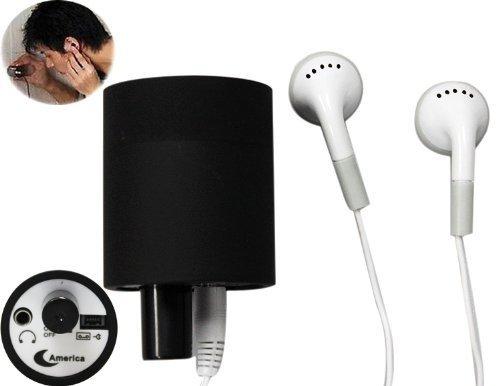 Spy Bug-Monitor LISTENER, TechCode® hören durch Wand-Tür-Ohr-Verstärker Belauschen Spy Bug-Monitor Listener (Monitor Spy)