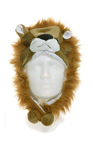 Mütze ''Tier'' - Löwe | Karneval | Fasching | Kostümzubehör | Outfit | Verkleidung | Preis am Stiel® (Waschbär Kostüm Ideen)