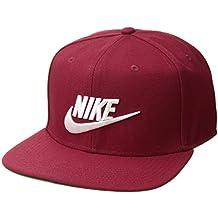 0e9cd34caa Nike PRO Futura - Berretto con Visiera, Unisex, 891284-618, Red Crush