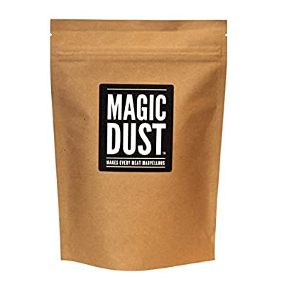 Magic Dust® - All Purpose Seasoning & BBQ Rub -Makes Every Meat Marvellous - Large Pack (225g) by Nifty Kitchen
