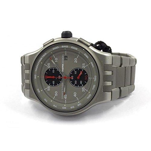 Uhr MOMO DESIGN Unisex md089-cm Quarz (Batterie) Stahl Quandrante grau Armband Stahl