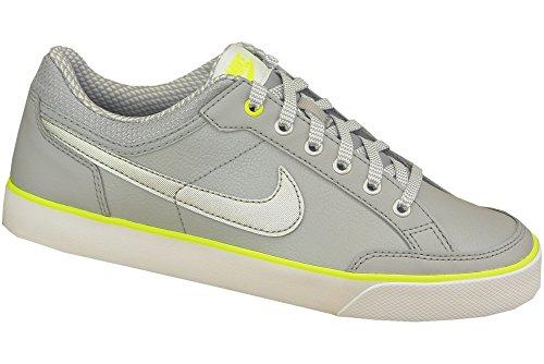 half off 96cd0 10455 Nike Capri 3 LTR (GS), Chaussures de Tennis Fille, (Gris Loup
