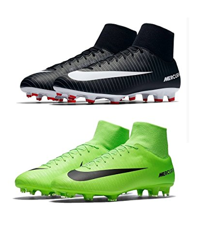 Nike Mercurial Victory Vi Df Fg, Chaussures de Football Homme Vert (Electric Green/flash Lime/white/black)