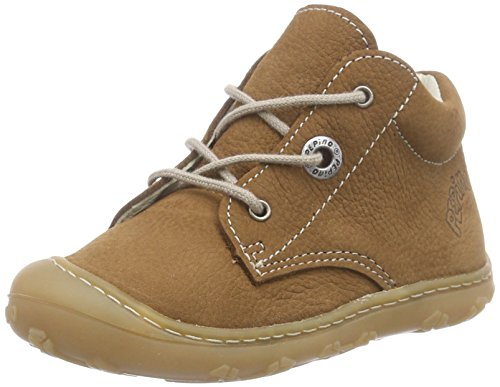 Ricosta Unisex-Kinder CORY Derby, curry, 21 EU (Baby Neutral Schuhe)