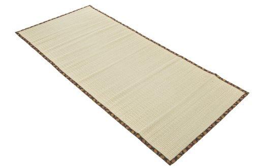 Tatami-matte (Original Tatami Goza Matte 200x90 cm mit buntem Rand)