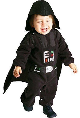 Kleinkind Baby Mädchen Jungen Star Wars Yoda Darth Vader Prinzessin Leia Halloween Kostüm Outfit Verkleidung 12-24 monate 1-2 jahre - Darth Vader, 12-24 Months, 12-24 (Für Vader Kostüm Darth Mädchen)