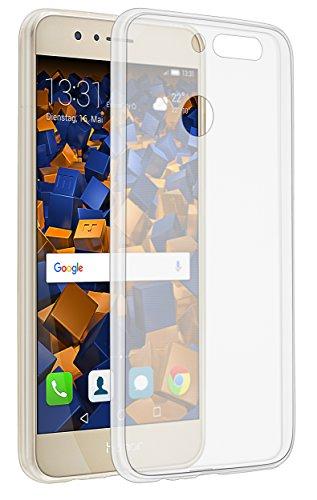 mumbi UltraSlim Hülle für Huawei Honor 8 Pro Schutzhülle transparent (Ultra Slim - 0.70 mm)