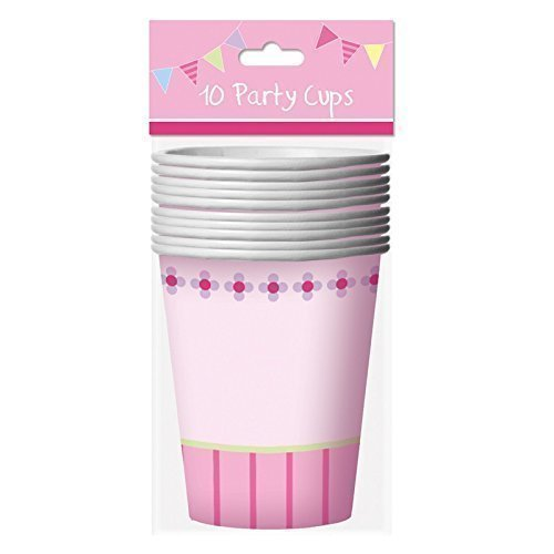 Fusion-cup (Childrens Birthday Party 9oz Paper Cups - Girls Fairy Princess by Tallon)