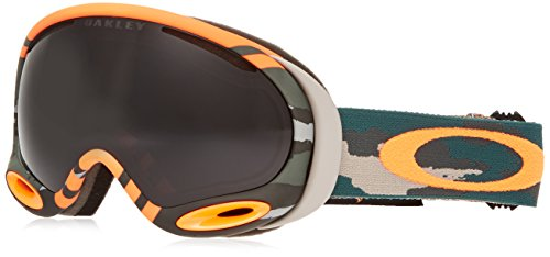 Oakley Skibrille A-Frame 2.0 Einheitsgröße Arancione/Grigio