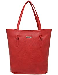 Elliza Donatein Womens Zipper Closure Tote Handbag