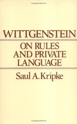 Wittgenstein Rules and Private