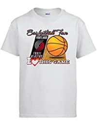 Camiseta NBA Portland Trail Blazers Baloncesto Basketball fan I Love This Game