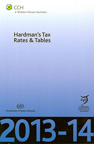 hardmans-tax-rates-tables-2013-14-by-cch-a-wolters-kluwer-business-published-may-2013