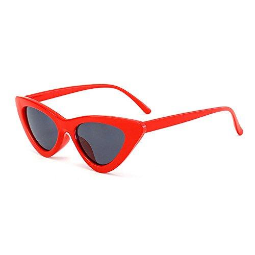 AOLVO Gafas de Sol Retro Cat Eye Gafas de Sol Vintage Cat Eye Gafas de Sol Premium Ligeras HD Lentes UV 400 Personalizadas, C4, Talla única