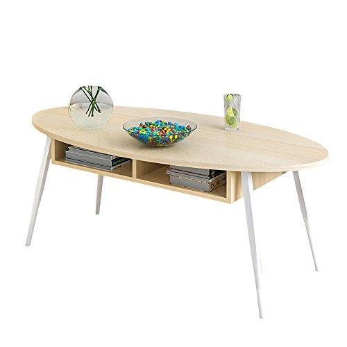 AJZGF Wohnzimmer Couchtisch Schublade Holz Regal 4 Fuß Beistelltisch Regal (Farbe : 1, größe : 100 * 50 * 42cm) (42 Couchtisch)