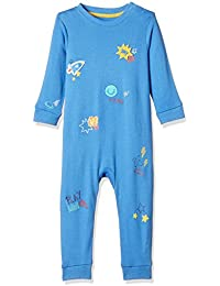 Mothercare Baby Boys'  Regular Fit Cotton Romper Suit