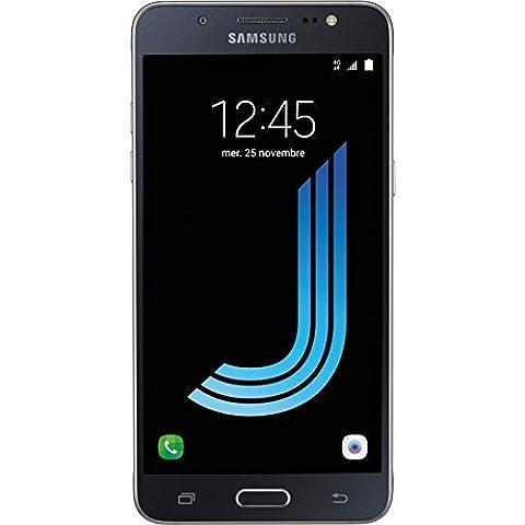 Samsung Galaxy J5 2016 Smartphone débloqué 4G (Ecran: 5,2 pouces - 16 Go - Micro-SIM - Android) Noir