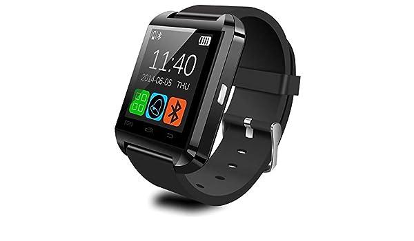ADTECK Lenovo Moto Z Montre CONECTÉE, Smart Watch TF(Micro SD), Émetteur Bluetooth, Tactile Intelligent,Traqueur Fitness Waterproof Compatible avec Votre ...