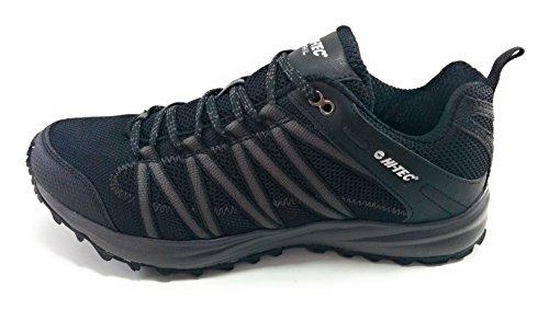 Hi-Tec Sensor Trail Lite Zapatillas Trail Running Hombre (41, Negro)