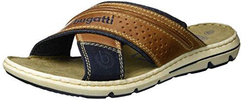 bugatti-k478943-mules-homme-marron-cognac-blau-647-44-eu