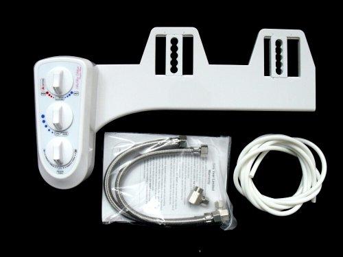 BisBro Deluxe Comfort Bidet - Dusch-WC mit Warmwasser für Intimreinigung - Taharat
